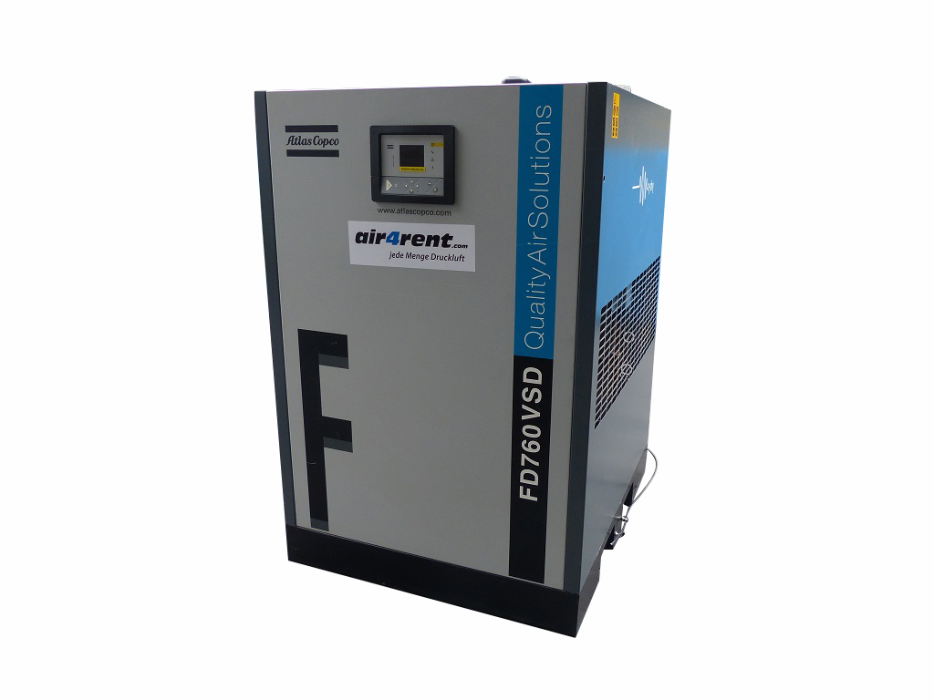 Refrigerated Air Dryer Fd 760 Vsd Atlas Copco Rent To